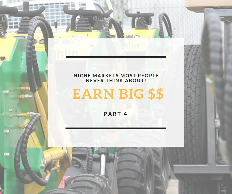 Niche Markets most people don't think about: This one will surprise you!