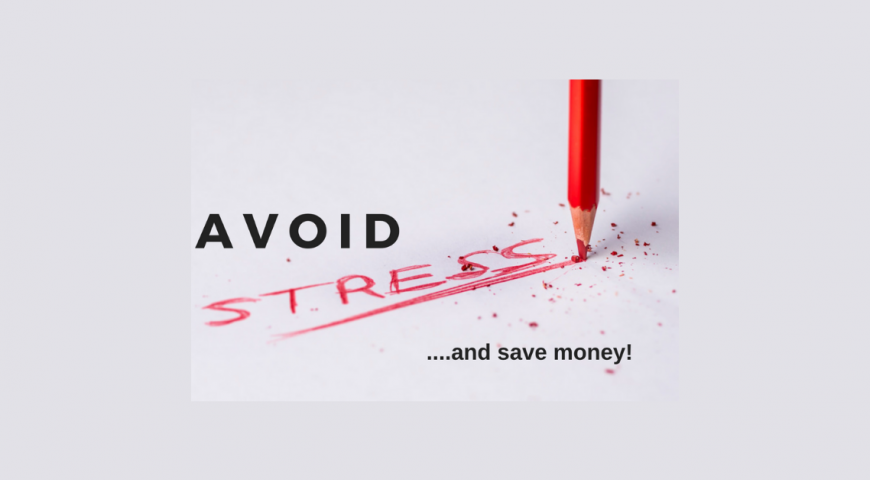 Hate stress and wasting money? Avoid both with this easy tip!
