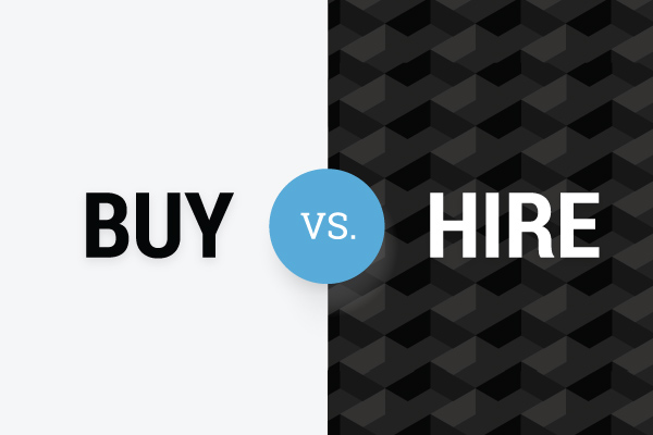 Mini Digger Hiring VS Buying